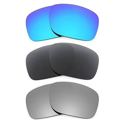 Revant Ersatzlinsen für Oakley Holbrook Polarisiert 3 Paar Kombipack K015 (Holbrook Oakley Ersatz)