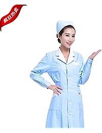 Xuanku La Farmacia Ropa De Trabajo El Suministro Al por Mayor Bata Blanca De Manga Corta