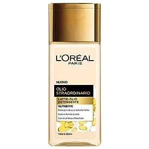 L'Oréal Paris Olio Straordinario Latte-Olio Detergente, 200 ml