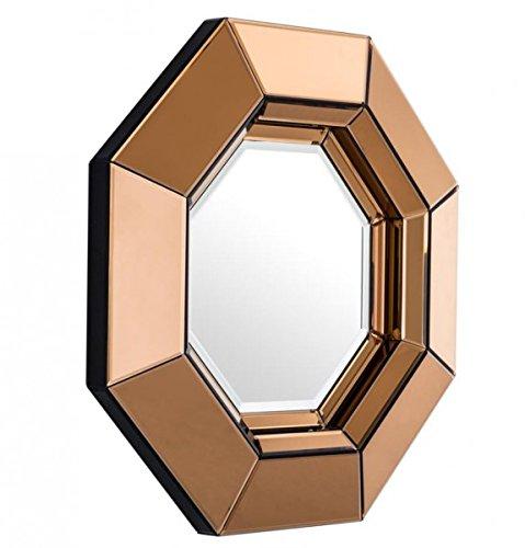 Casa-Padrino-Designer-Luxury-Wall-Mirror-Amber-68-x-H-68-cm-Luxury-Quality