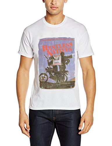 Rockoff Trade Restless Natives, T-Shirt Uomo Bianco