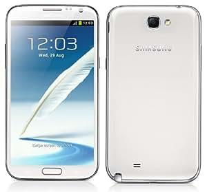 GenericSamsung Galaxy Note 2 Full Body Housing Panel - White