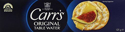 Carr's Original Table Water, 12er Pack (12 x 125 g) (Club Cracker)