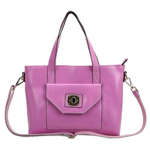 E-Girl Q0450 donna Borse a spalla,Borse a tracolla31x24x11 cm (B x H x T) Pink