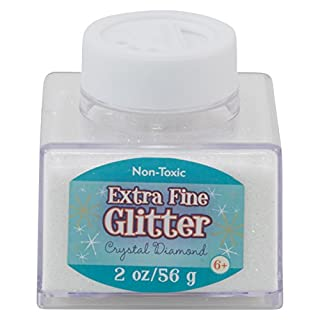 Advantus Crystal -Fine Glitter 2 Ounce, Acrylic, Multicolour