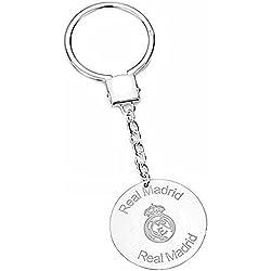 Llavero escudo Real Madrid Plata de ley escudo láser [6795] - Modelo: 30-020