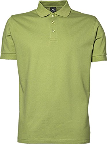 TJ1405 Mens Stretch Deluxe Polo Coral