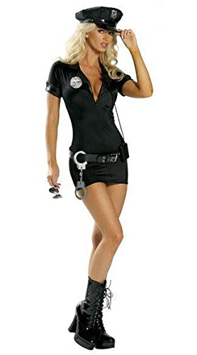 Kostüm-Party Polizei Polizistin Rolle spielt Europa Bar Uniformen (Pirate Sexy Perücke)