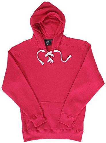 10 Oz Kapuzen-sweatshirt (Adult Sport Lace Hood WILDBERRY XXS)