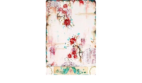 French Wallpaper Cream HIGH QUALITY MUSEUM WRAP CANVAS Print Kathe Fraga 16x24: Amazon.co.uk: Kitchen & Home