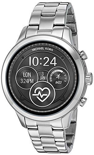 Michael Kors Damen-Smartwatch mit Edelstahl Armband MKT5044