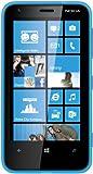Nokia Lumia 620 Smartphone (9,7 cm (3,8 Zoll) Touchscreen, Snapdragon S4, Dual-Core, 1GHz, 512MB RAM, 5 Megapixel Kamera, Win 8, micro SIM) cyan