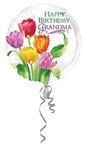 Tulip Cut Outs (Amscan Oma Tulip Geburtstag Folienballon)