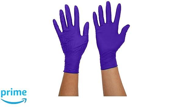 Medium lot de 200 sans poudre Supermax Lot de 9377/A7/Aurelia Sonic 200/gants en nitrile Bleu