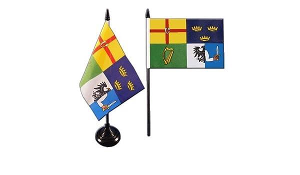 Flaggenfritze/® Tischflagge Irland Erin Go Bragh 10x15 cm