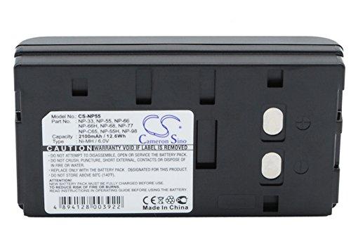 Akku für Sony CD-TR202 EVC-9100 EVC-X7 GV-5K GV-8 GV-9 GV-9E 6,0 V 2100 mAh