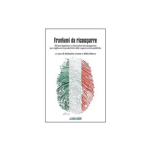 Frantumi Da Ricomporre. Riforme Legislative E Innovazioni Di Management Per Migliorare La Produttività Delle Organizzazioni Pubbliche