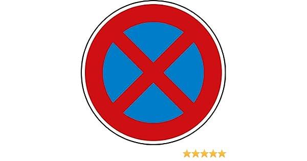 ORIGINAL Verkehrszeichen Nr 283-10 Halteverbot links Straßenschild 600 mm Schild