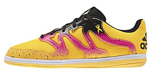 adidas Unisex Baby X 15.4 St J Fußballschuhe Various colors (Yellow / Pink / Black (Dorsol / Rosimp / Negbas))