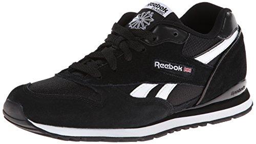 Reebok GL2620 Black White Youths Trainers Black White