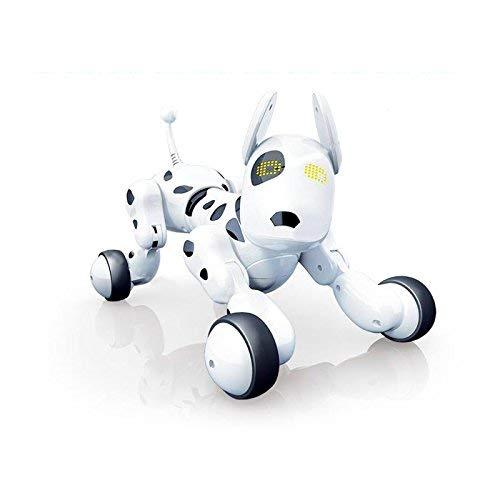 RCTecnic Perro Robot para Niños Buddy Interactivo Mascota, Sabe Cantar, Bailar y...