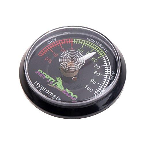 ESden, terrario per rettili, Tartaruga, igrometro, misuratore di umidità