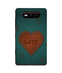 PrintVisa Designer Back Case Cover for Nokia Lumia 820 (Short and sweet simple classy pretty)