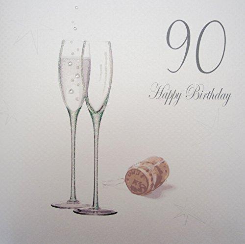 White Cotton Cards Grande 90Feliz Cumpleaños