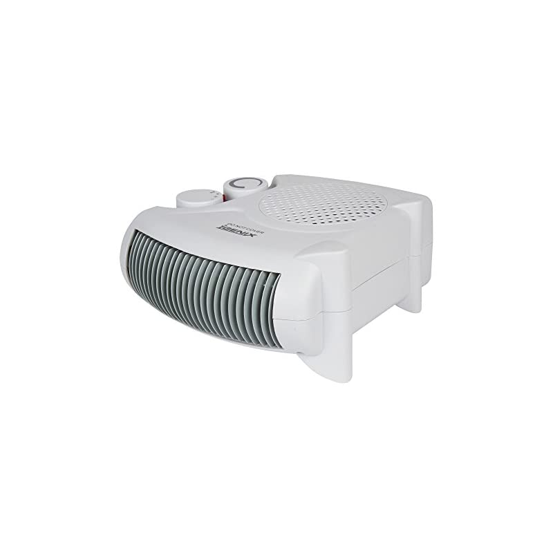 Igenix IG9010 Flat/Upright Portable Electric Fan Heater with 2 Heat Settings and Cool Air Setting