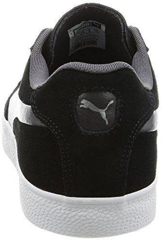 Puma Unisex-Erwachsene Match Vulc 2 Low-Top Schwarz (puma black-asphalt 02)