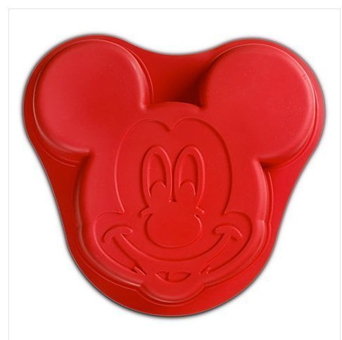 Mickey Mouse Mold (Disney Parks Exclusive Mickey Mouse Icon Silicone Cake Mold by Disney)