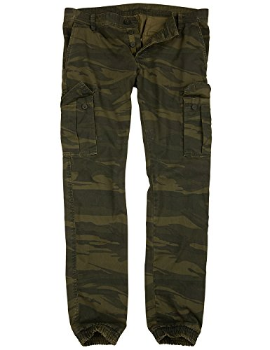 Surplus Bad Boys Pantalons camo vert