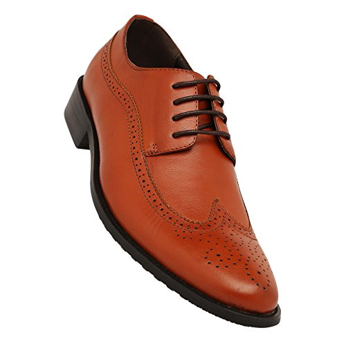 Tresmode Mens Leather Lace Up Smart Formal Shoes