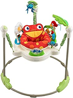 Fisher-Price K7198 Rainforest Jumperoo Baby Hopser mit Spielzeugen höhenverstellbar, max. 12 kg / 81 cm (B000LXQVA4) | Amazon price tracker / tracking, Amazon price history charts, Amazon price watches, Amazon price drop alerts