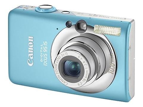 Canon Digital IXUS 95 IS Digital Camera - Blue (10 MP, 3.0x Optical Zoom) 2.5 inch LCD