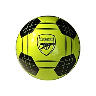 Arsenal F.C. Size 5 Football Crest Fluo