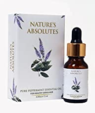 Nature's Absolutes Pure Peppermint Essential Oil, 15ml