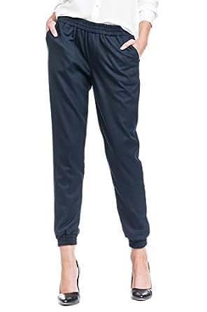 Salsa - Pantalons Lori en toile de couleur - Femme - Bleu