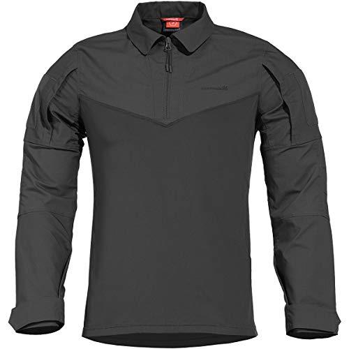Pentagon Ranger Combat Shirt Schwarz, Schwarz, 2XL