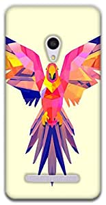 The Racoon Lean Pastel Parrot hard plastic printed back case / cover for Asus Zenfone 5