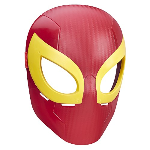 Marvel – Ultimate Spider–Man – Hero Maske – Iron Spider (Ultimate Captain America Kostüm)