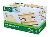 BRIO World Railway Track - Mini Straights