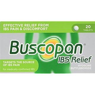 Buscopan IBS Relief Hyoscine Butylbromide 20 Tablets
