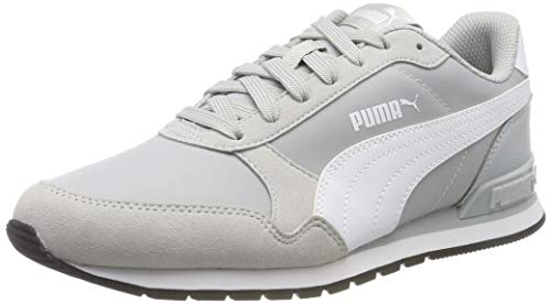 PUMA ST Runner v2 NL, Zapatillas Unisex Adulto, High Rise White Black, 47 EU