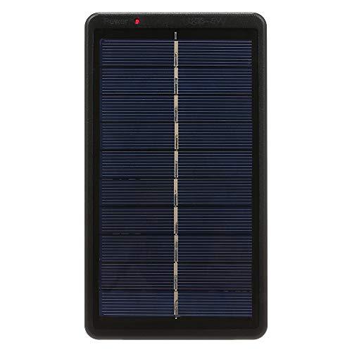 Decdeal 2W/5V Tragbares Solarladegerät Kompaktes Solarpanel mit USB Anschluss für 3.7 V 18650 Akku und Mobiltelefon Tablette Energienbank Ladegerät 170 x 95 x 25mm