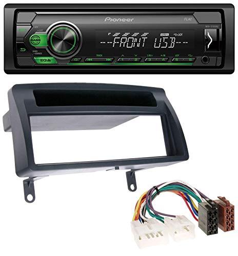 caraudio24 Pioneer MVH-S110UBG MP3 AUX 1DIN USB Autoradio für Toyota Corolla E12 (2003-2008) (Toyota Corolla 2006 Auto Stereo)