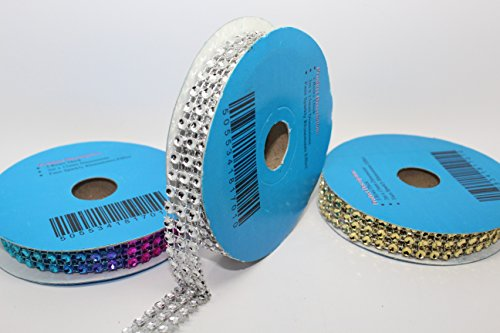 Diamantband, 3mx15mm, dreireihig