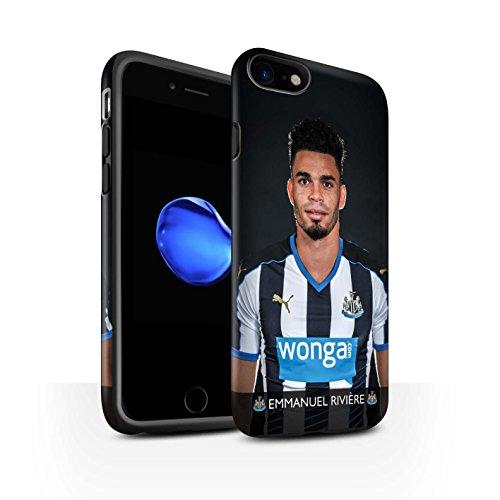 Offiziell Newcastle United FC Hülle / Matte Harten Stoßfest Case für Apple iPhone 7 / De Jong Muster / NUFC Fussballspieler 15/16 Kollektion Rivière
