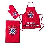 FC Bayern Grill-Set 3tlg Grillset
