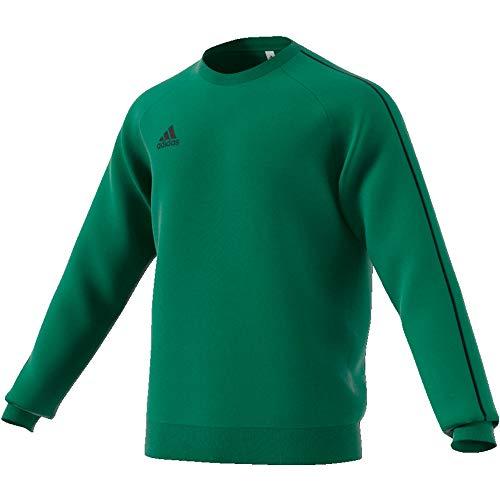 adidas Herren Core 18 Sweat Top Sweatshirt, Bold Green/Black, M